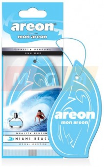 "Ароматизатор ""AREON"" бумажный ""MON AREON"" Miami Beach"